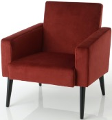SILLON ARMAND ROJO